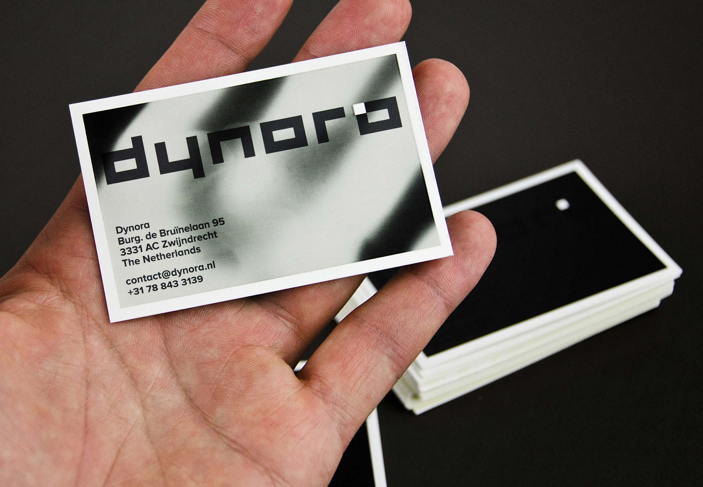 Dynora — Thermal ink business card — Taken By Storm