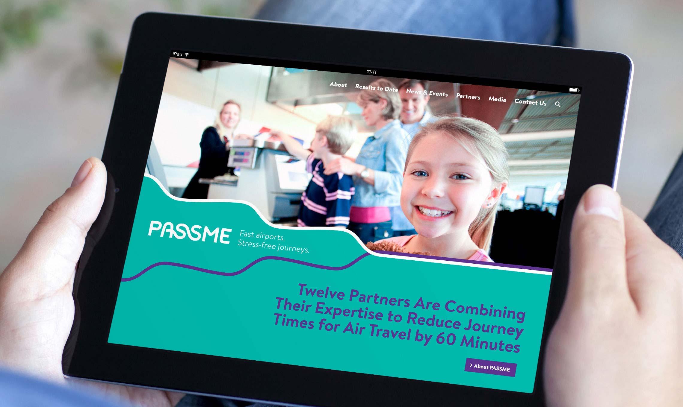 PASSME Project Branding Website